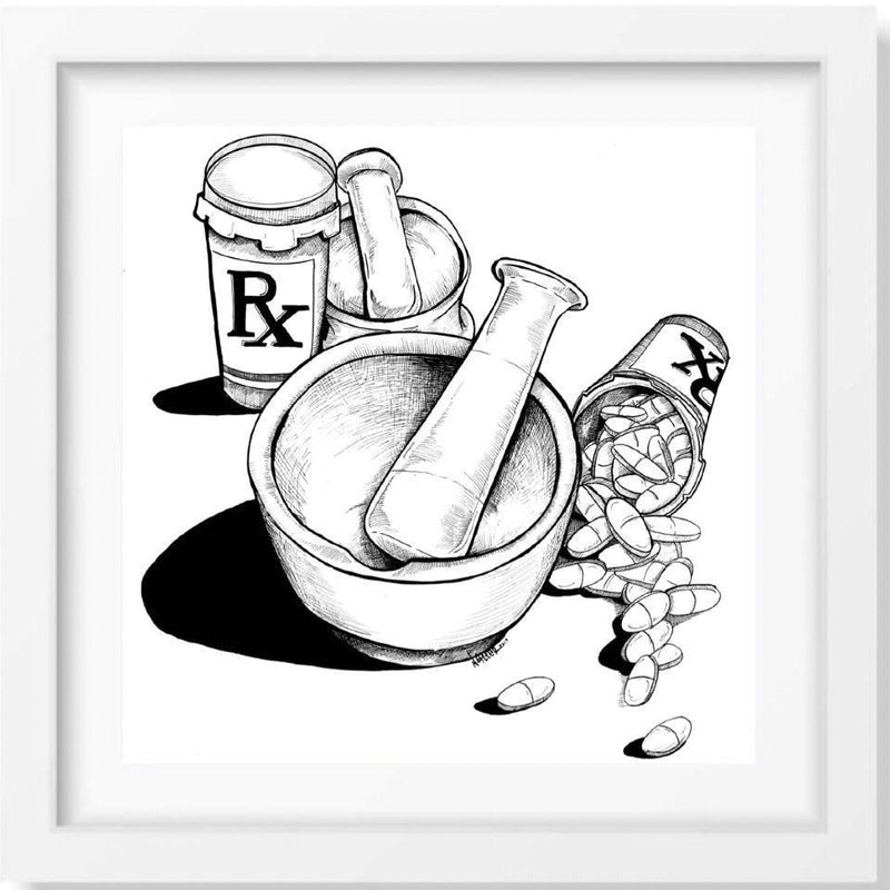 Pharmacology - Limited Edition Print