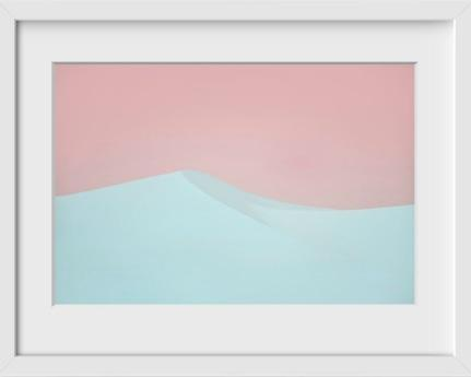 Pismo Beach (Dune 1) - 14x16 / White Frame / Buy - Limited Edition Print