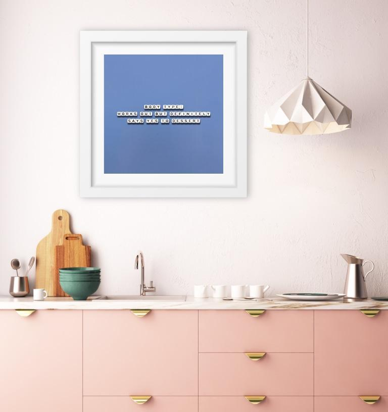 Say Yes to Dessert - Limited Edition Print