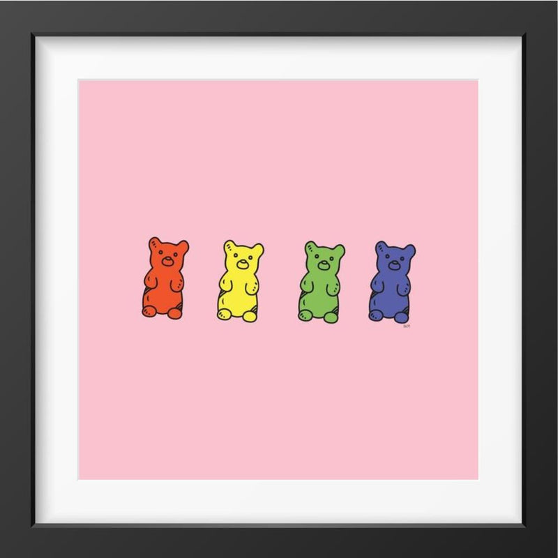 Sweet - 14x14 / Black Frame / Buy - Limited Edition Print