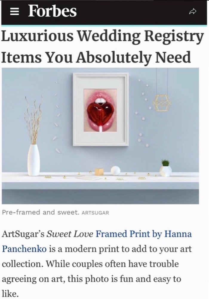 Sweet Love - Framed Print