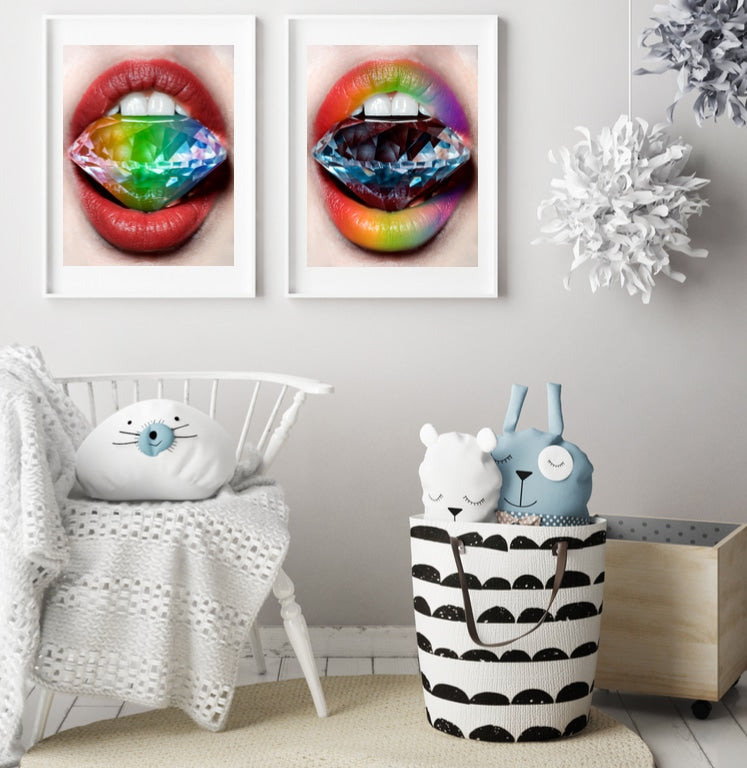 Technicolor Love Set - Limited Edition Print