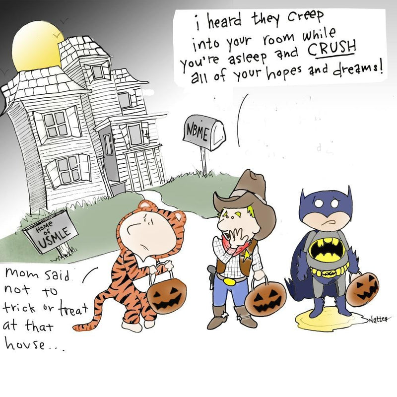 Trick or Treat USMLE - Limited Edition Print
