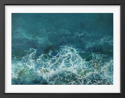 Tropical Surge - 14x16 / Black Frame / Buy - Limited Edition Print