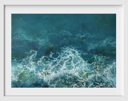 Tropical Surge - 14x16 / White Frame / Buy - Limited Edition Print