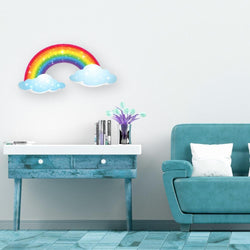 Two Clouds: Acrylic Mountable Rainbow