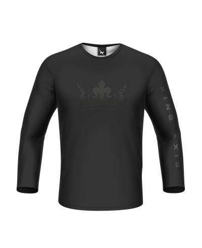 King Axis Blackout Long Sleeve Tee