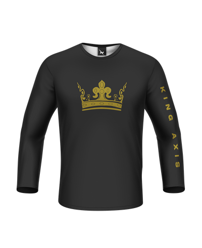 King Axis Gold Long Sleeve Tee