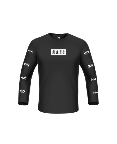 Gazi Distorted Long Sleeve Tee