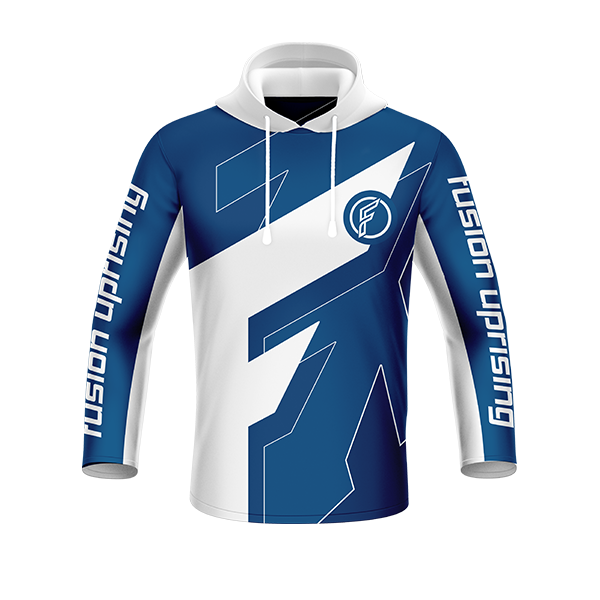 Fusion LS Hooded Jersey