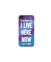I LIVE HERE NOW Phone Case