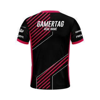 Atmosphere Black Camo/White Gaming Jersey
