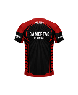 Atmosphere Black Camo/Pink Gaming Jersey