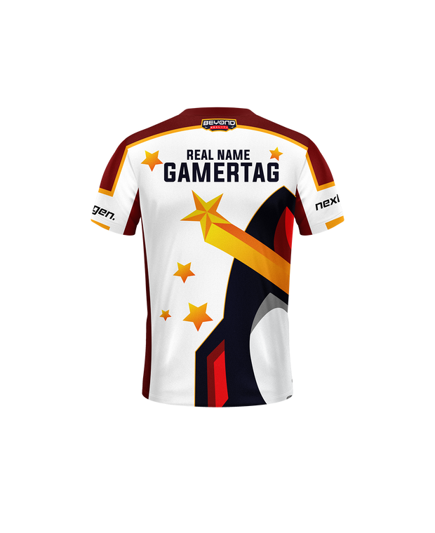 Beyond Reality Esports Jersey V2 White - Next Generation Clothing