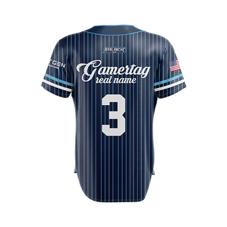 Avalanche Baseball Jersey - Blue