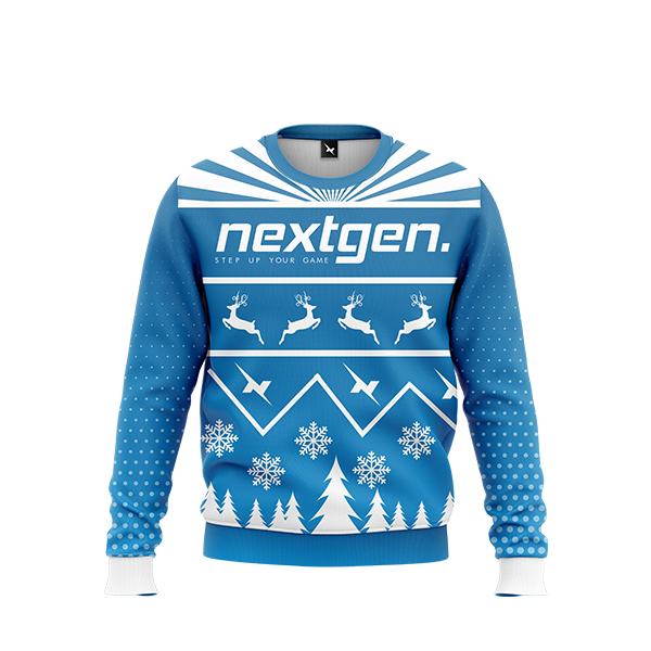 NextGen Christmas Sweater - Blue