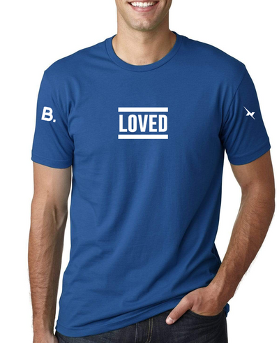 Loved Tee - Cool Blue