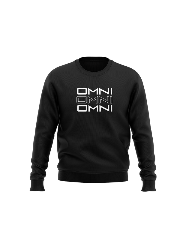 Omni Stacked Crewneck