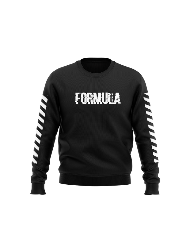 Simple Formula Distorted Crewneck