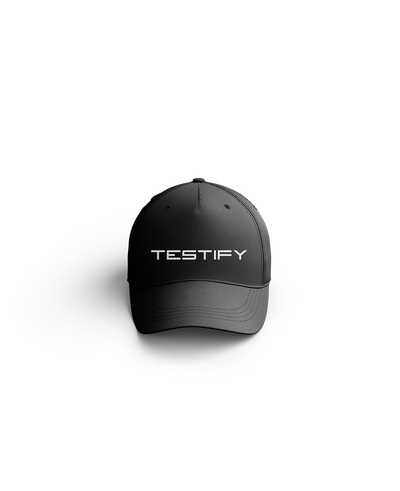Testify Text Dad Hat