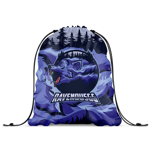Ravenous Drawstring Bag