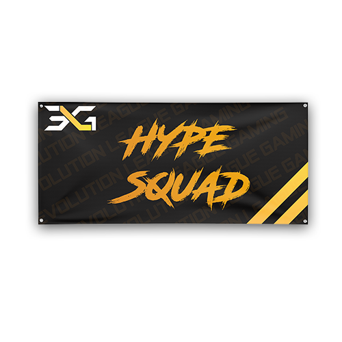 ELG Nation Hype Squad Team Flag