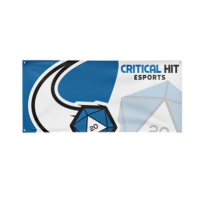 Critical Hit Esports Team Flag