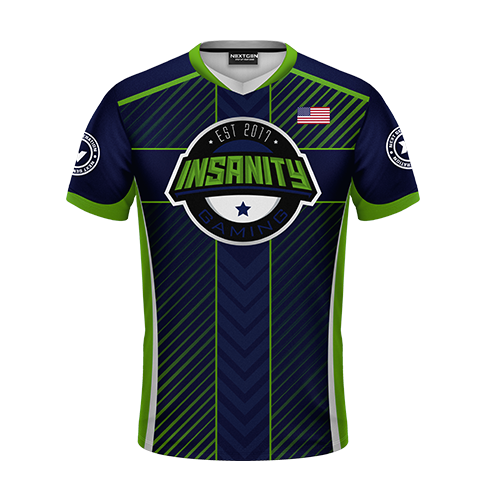 Insanity Gaming 2018 Jersey