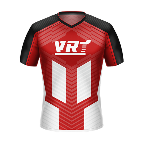 VRT Racing Red/Black Gaming Jersey