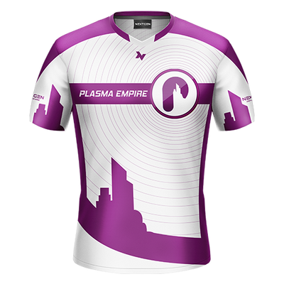 Plasma Empire White Gaming Jersey - Next Generation Clothing