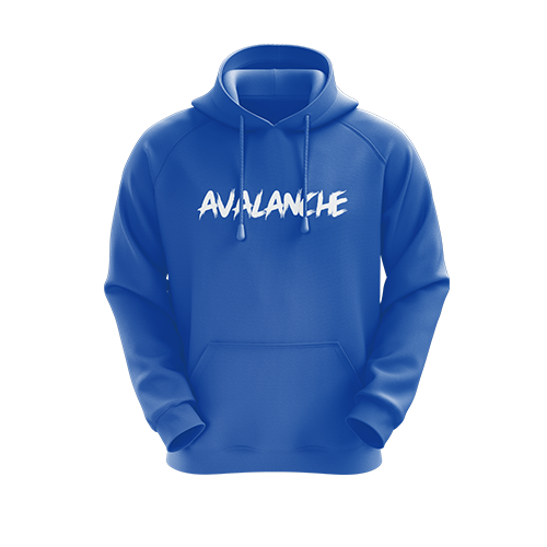 Avalanche Blue Hoodie