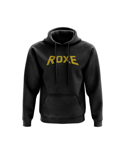 Roxe Gold Text Hoodie