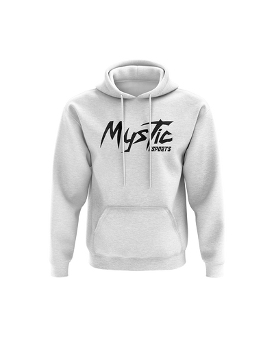 Mystic Text White Hoodie