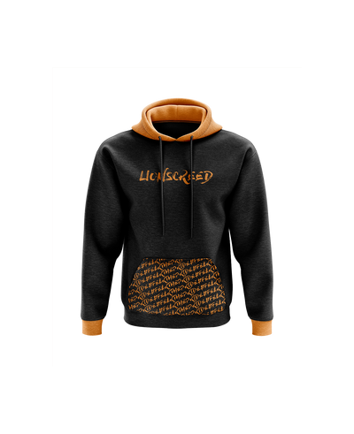 LionsCreed 'FearThePride' Pattern Hoodie