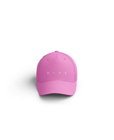 Hype Text Dad Hat (Pink)