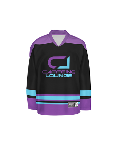 Caffeine Lounge Hockey Jersey