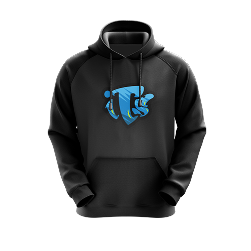 InTheSkies Black Hoodie - Next Generation Clothing