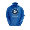 Critical Hit Esports Regular Hoodie Blue