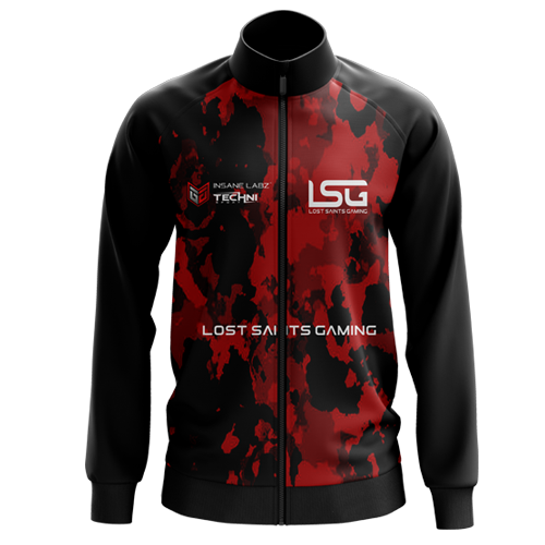 Lost Saints Gaming Camo Jacket