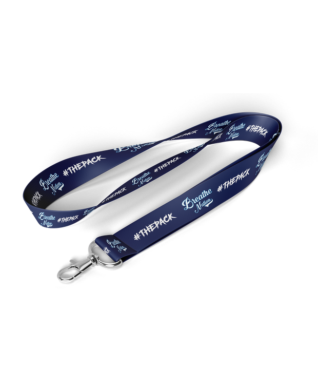 Breathe Nation Lanyard
