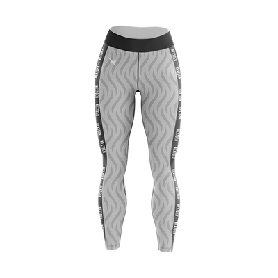 NextGen Wave Taped Leggings - WHT