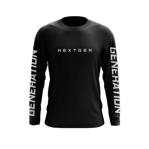 NextGen 'Generation' Long Sleeve Dri-Fit Top - Next Generation Clothing