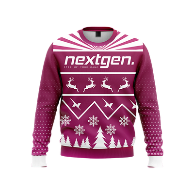 NextGen 2018 Christmas Sweater - Purple