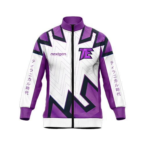 Tyrannical Era Pro Jacket - WHT/PURPLE