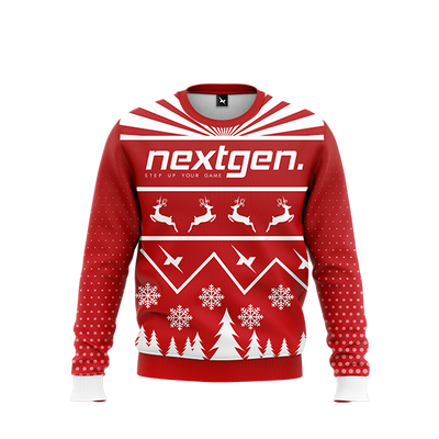 NextGen 2018 Christmas Sweater - Red