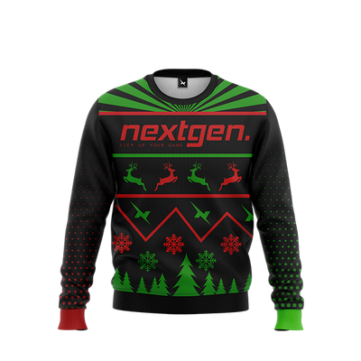 NextGen Christmas Sweater - Red/Green