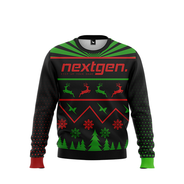 NextGen 2018 Christmas Sweater - Red/Green