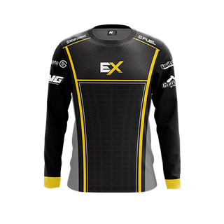 Excellence Gaming Long Sleeve Pro Jersey - Black