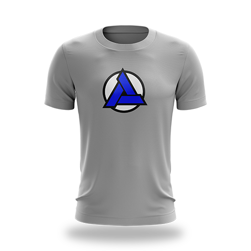 Trinity Gaming Regular Logo Tee Grey