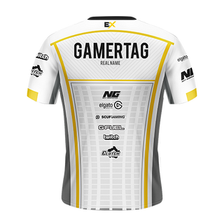 Excellence Gaming Pro Jersey - White